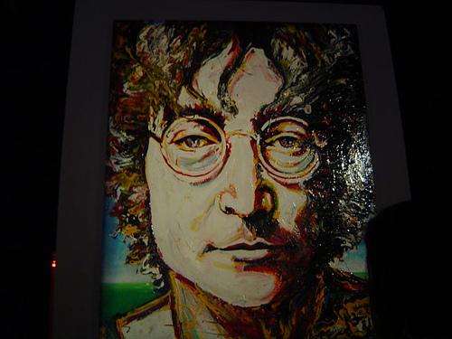 John Lennon Portrait @ Gallery Bar by Zito